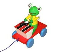quality_wooden_toys_wholesale_1201_pull_along_xylophone_frog_crafts_for_kids